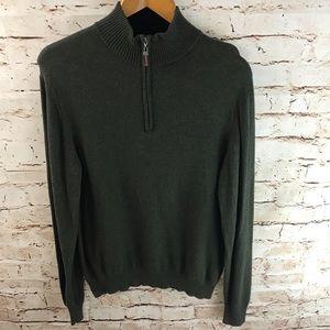 Tasso Elba Quarter Zip Knit Sweater